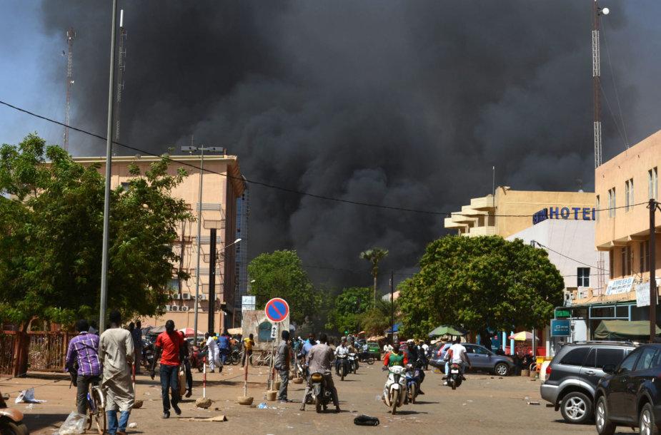 Išpuolis Burkina Fase