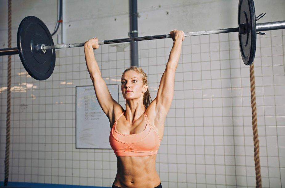 Sportiška moteris
