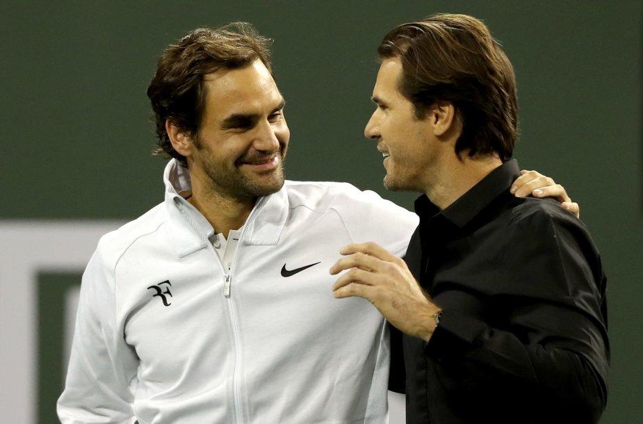 Rogeris Federeris ir Tommy Haasas