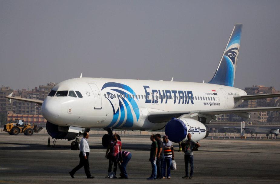 """Egypt Air"" lėktuvas"