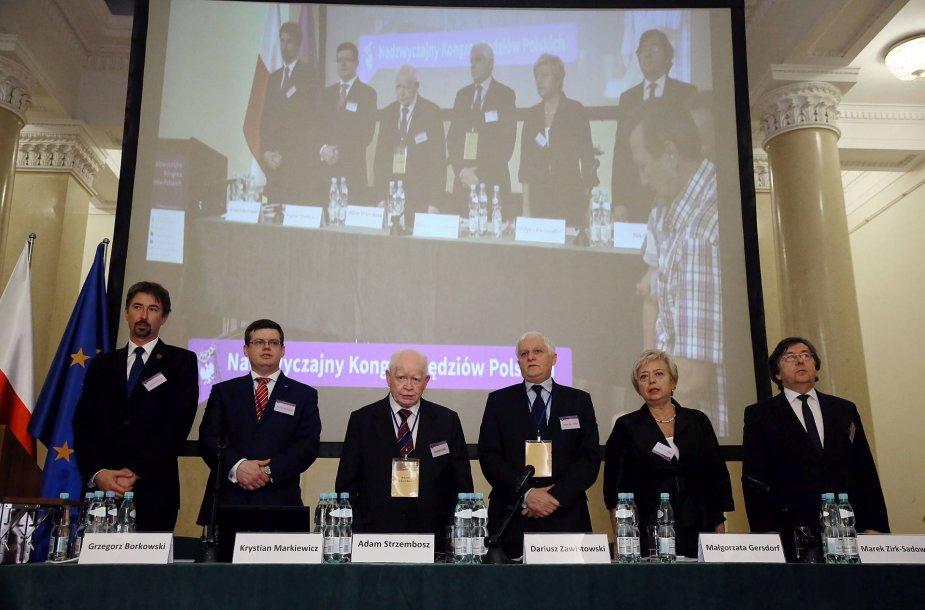 Lenkijos teisėjai susirinko į neeilinį kongresą.