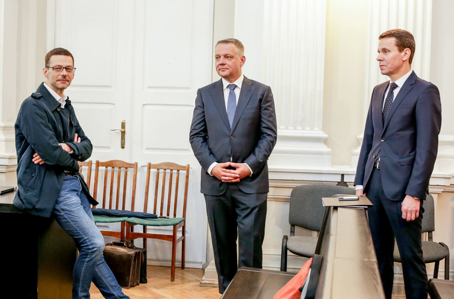 Šarūnas Gustainis, Eligijus Masiulis ir Raimondas Kurlianskis