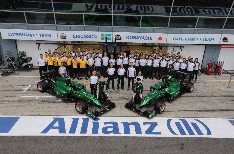 """""""Caterham F1"""" komanda"""