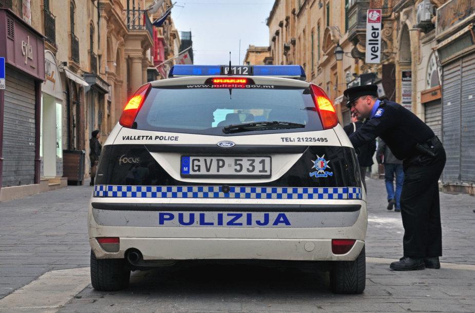 Policija Maltoje