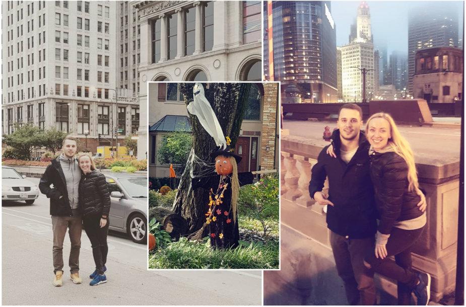 Baibos Skurstenes-Serdiukės ir Mykolo Serdiuko viešnagės Čikagoje akimirkos