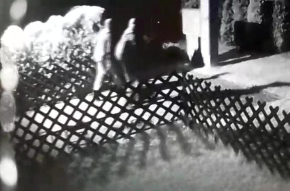 Nuo Užliedžių gyventojo Evaldo mašinos pavogti ratai