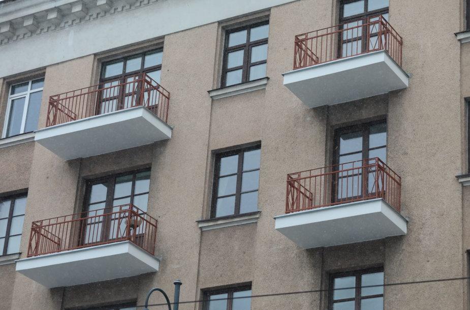 Balkonai Vilniaus senamiestyje