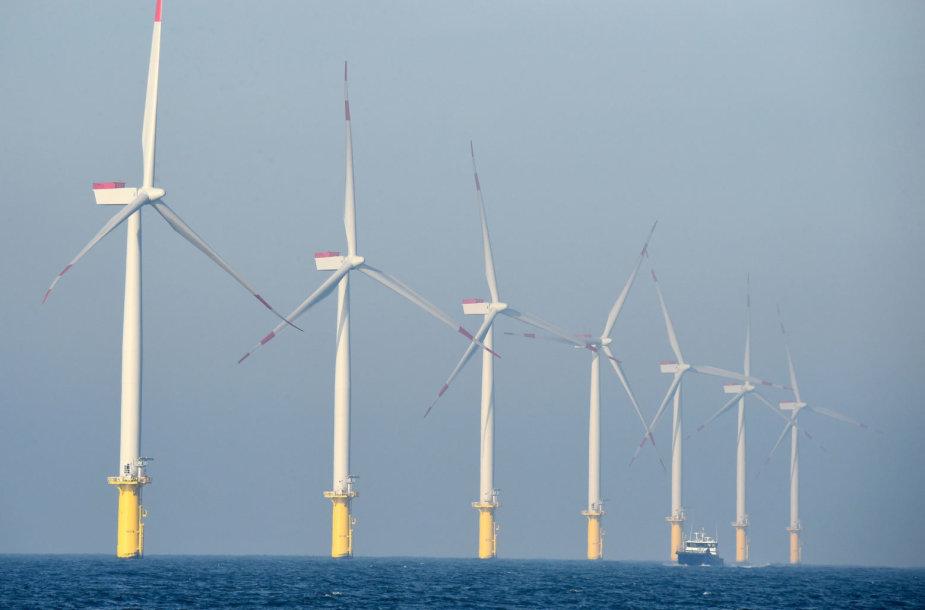 Jūrinis vėjo jėgainių parkas