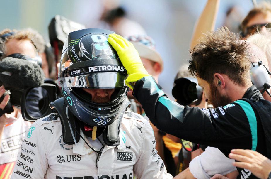 Nico Rosbergas šventė šeštąją sezono pergalę