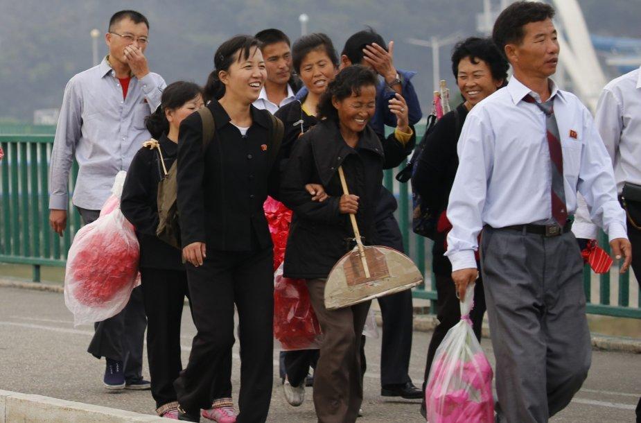 Šiaurės Korėjos pasiruošimas valdančiosios partijos 70-ajam jubiliejui