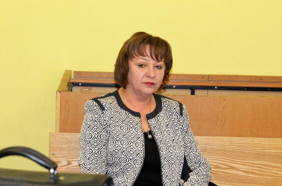 Buvusi prokurorė Rita Aliukonienė kaltinama prekyba poveikiu.