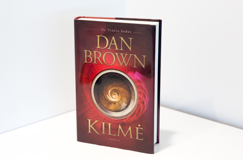 "Dano Browno romanas ""Kilmė"""