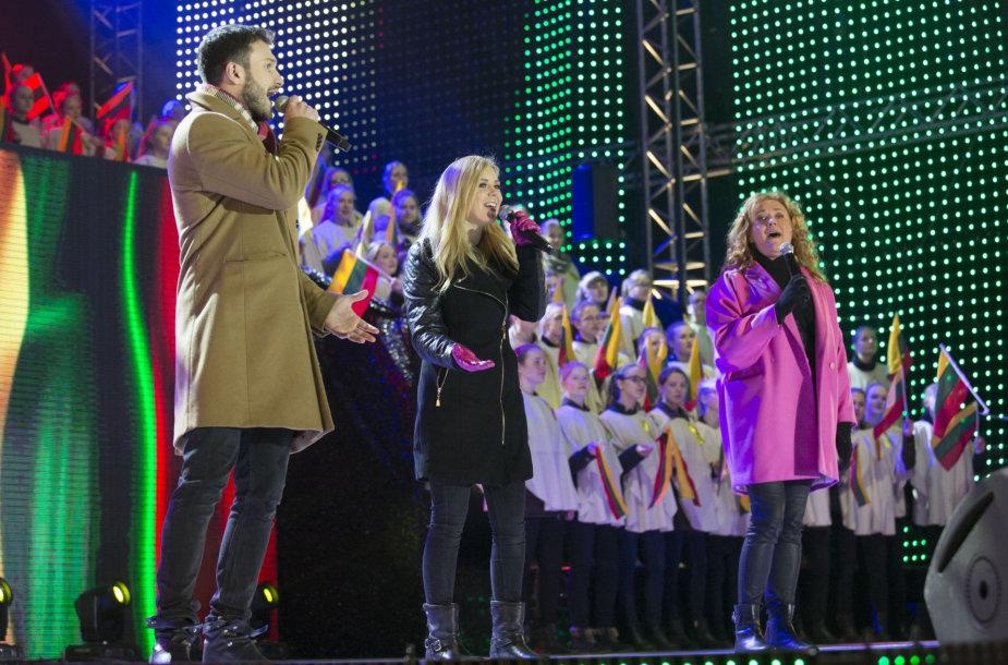 Vaidas Baumila, Monika Linkytė ir Rosita Čivilytė