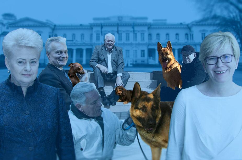 Prezidentų šunys