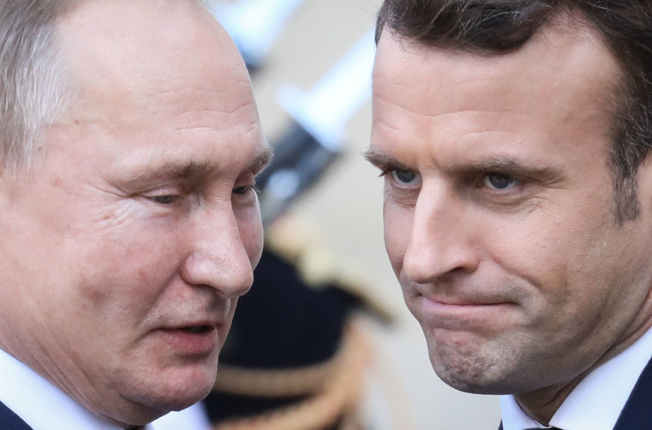 """""""Normandijos ketverto"""" susitikimas Paryžiuje"""