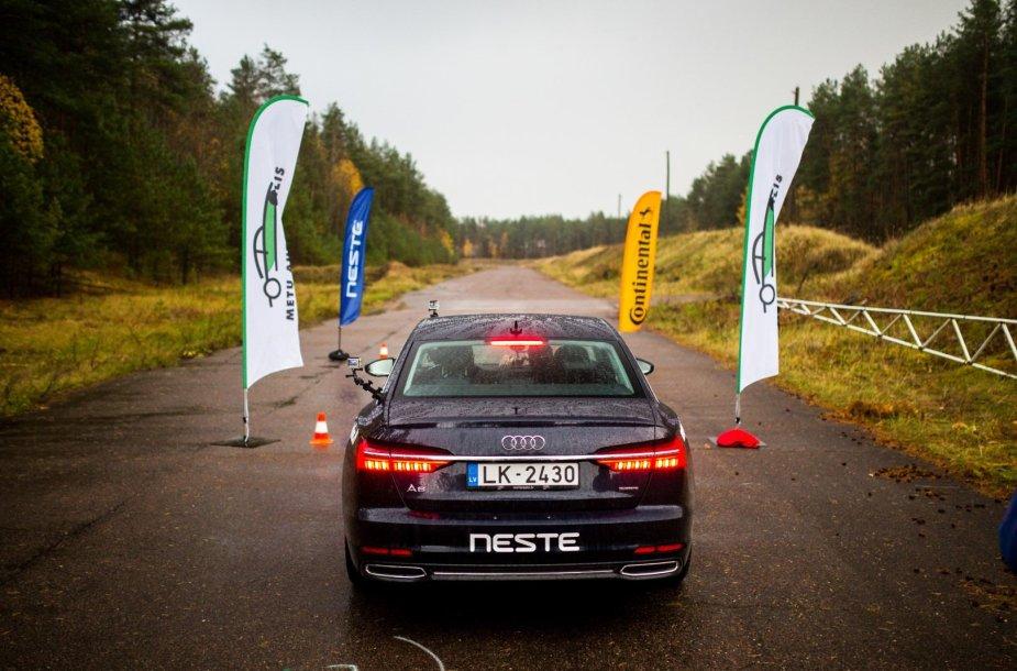 Automobilių įsibėgėjimo testas