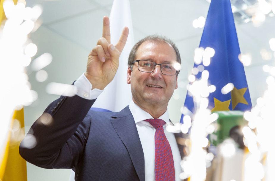 Darbo partijos kandidato į Vilniaus miesto merus Viktoro Uspaskicho spaudos konferencija