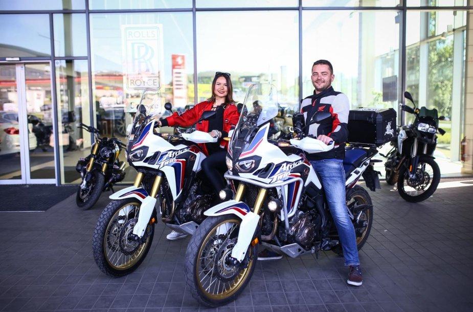 """""""BMW Mototurizmo sprinto"""" spaudos konferencija"""