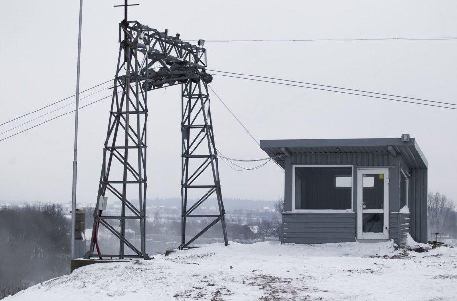Ant Liepkalnio kalno tvarkomas žiemos centras.