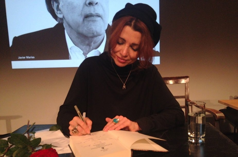 Elif Shafak Berlyno literatūros festivalyje