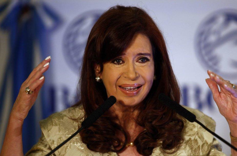 Argentinos prezidentė Cristina Fernandez de Kirchner