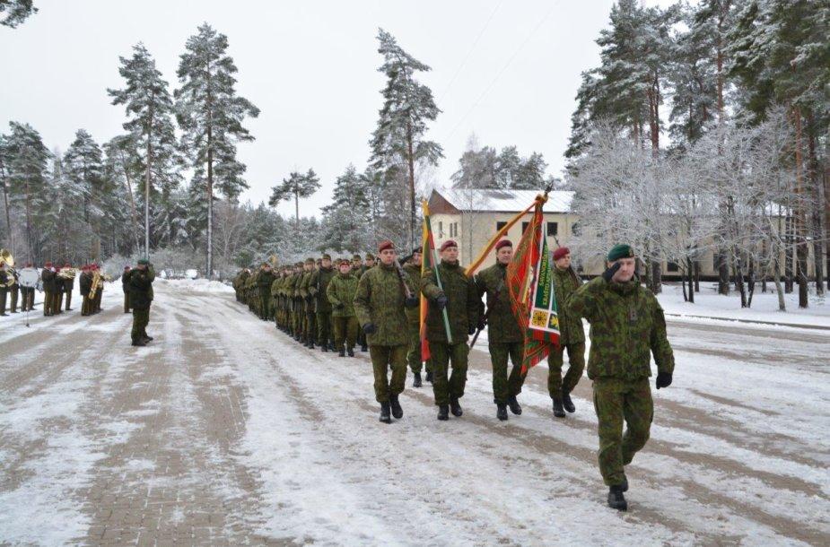 Karių savanorių priesaika Lietuvai