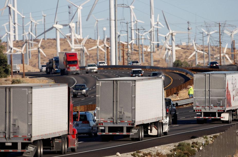 Vėjo jėgainės Kalifornijoje
