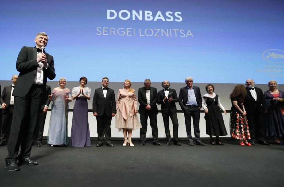 """Filmo """"Donbasas"""" premjera"""