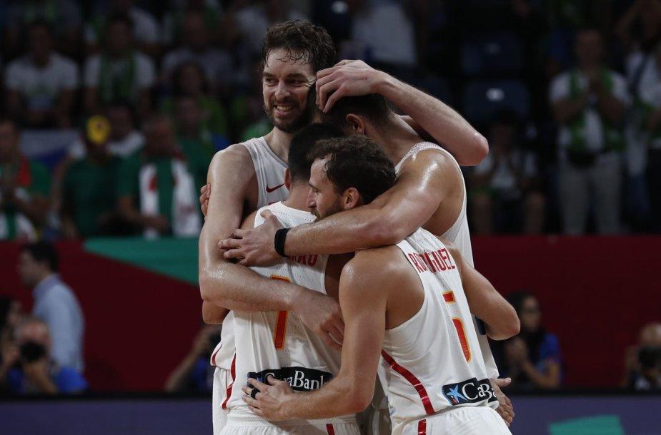 Ispanijos krepšininkai iškovojo Europos čempionato bronzą
