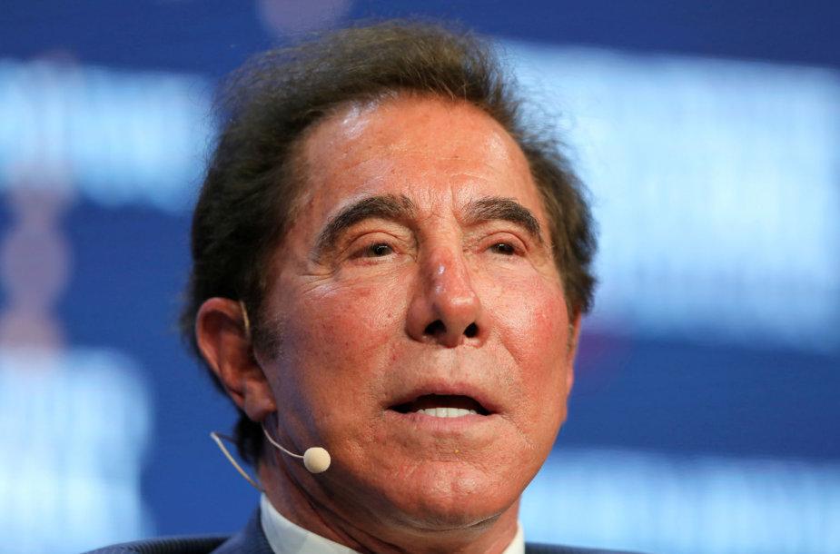 JAV lošimų verslo magnatas Steve`as Wynnas