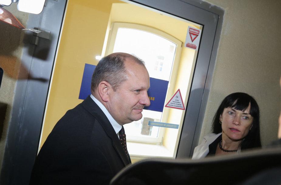 Kęstas Komskis, Aušra Ručienė