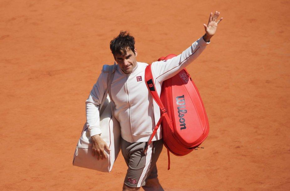 "Rogeris Federeris ""Roland Garros"" turnyre"