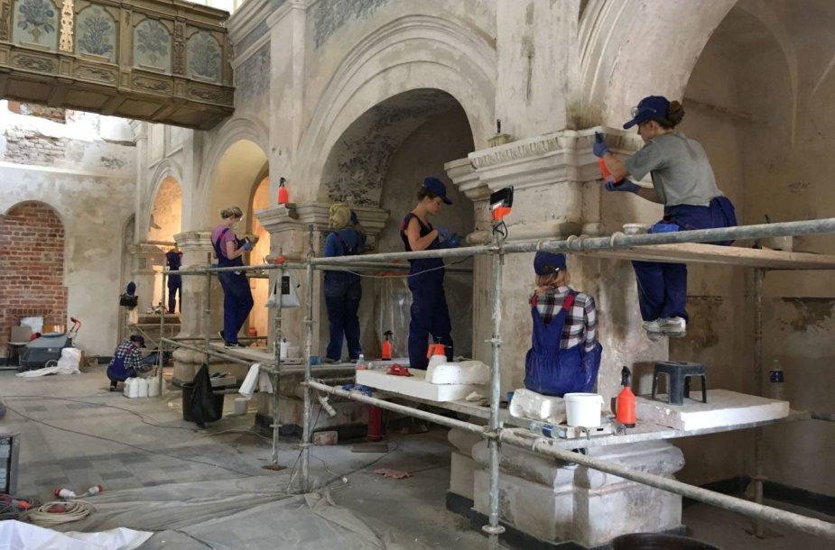 Kauno Šv. Jurgio kankinio bažnyčios restauravimas