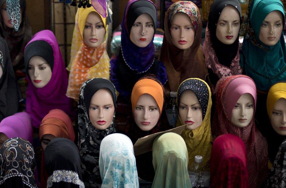 Musulmonių galvos apdangalai