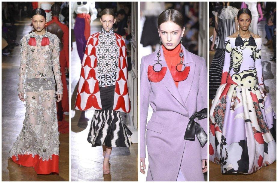 """""""Valentino"""" 2020 m. pavasario ir vasaros kolekcijos modeliai"""