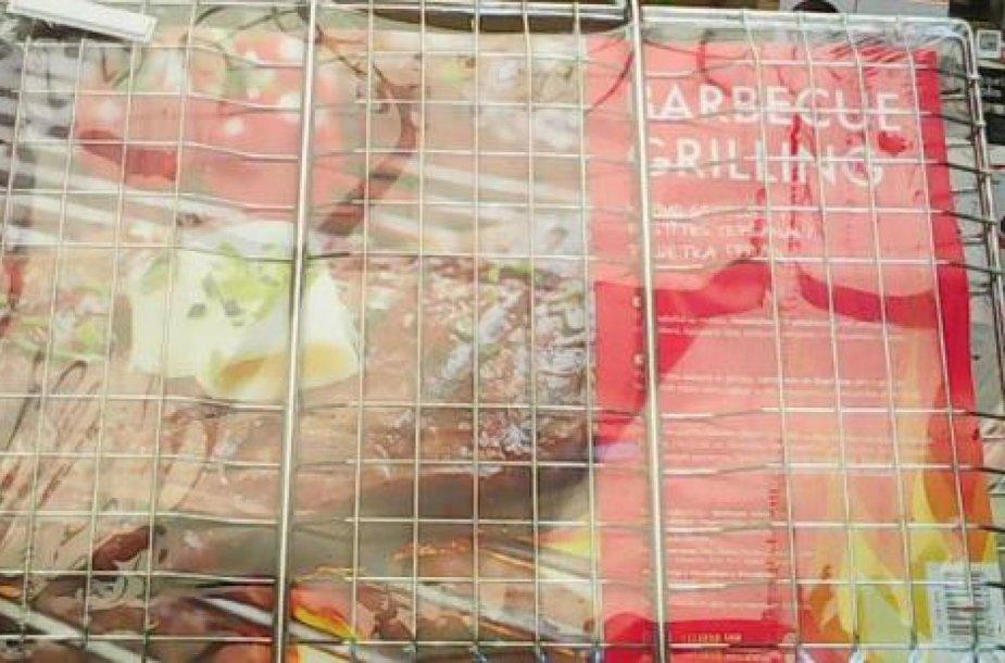 VMVT uždraudė prekybą nesaugiomis maisto kepimo grotelėmis