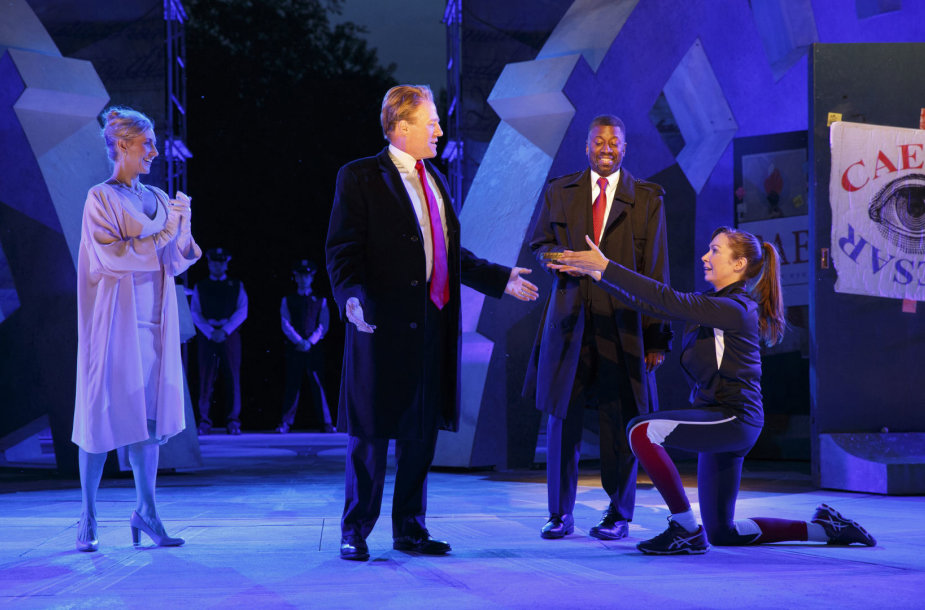 "Spektaklis ""Šekspyras parke"""