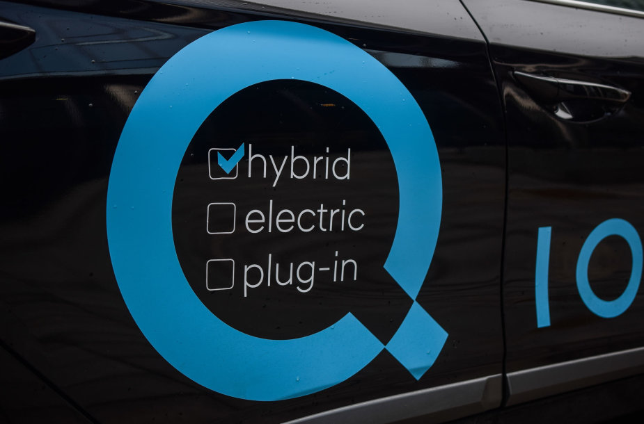 "Naujasis ""Hyundai Ioniq Hybrid"""