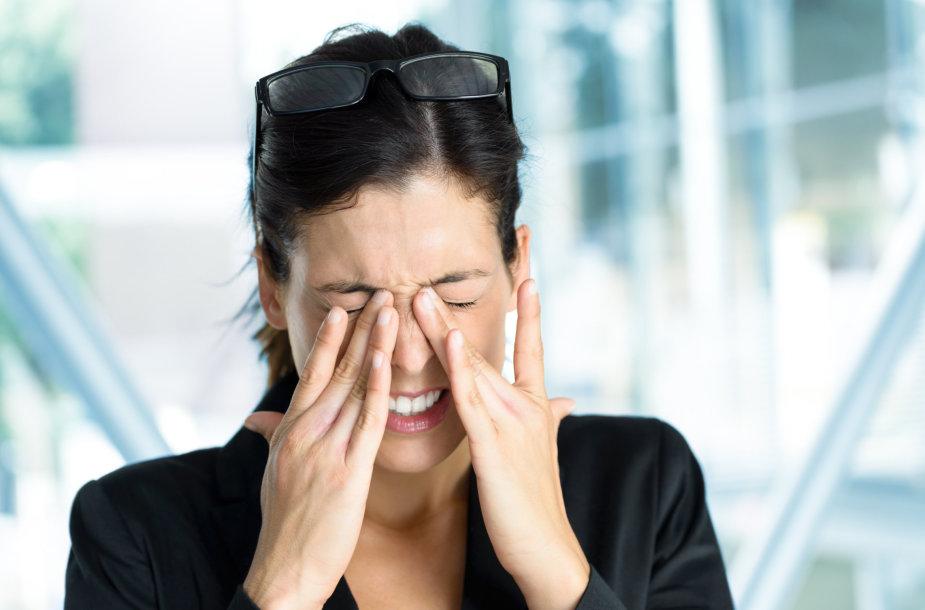 Migreninis galvos skausmas