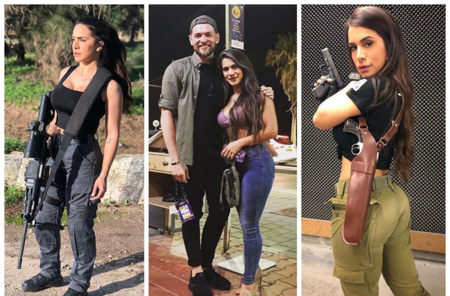 Jurijus Veklenko Tel Avive susipažino su garsiu ginklų modeliu Orin Julie