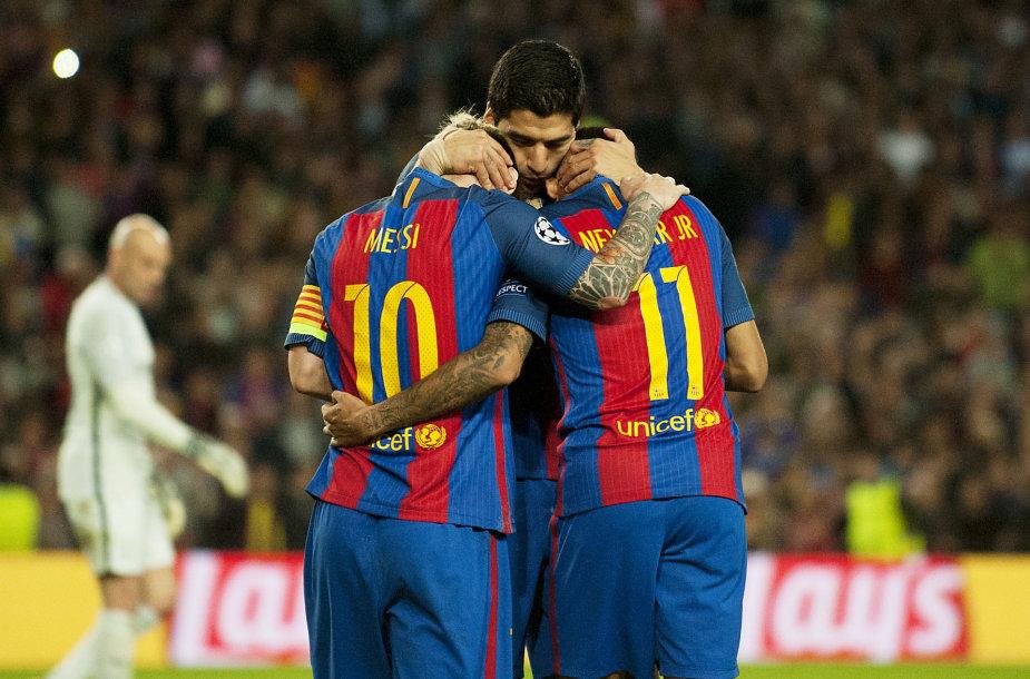 MSN trio laukia iššūkis prieš PSG