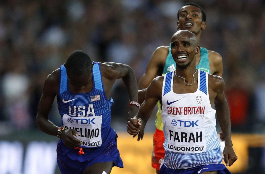 Mo Farah neiškovojo aukso