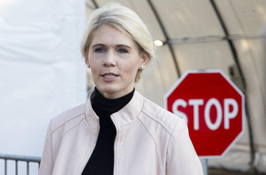 Vyriausiosios rinkimų komisijos vadovė Laura Matjošaitytė