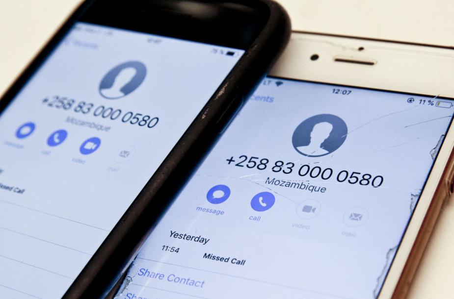 Telefoniniai sukčiai atakuoja
