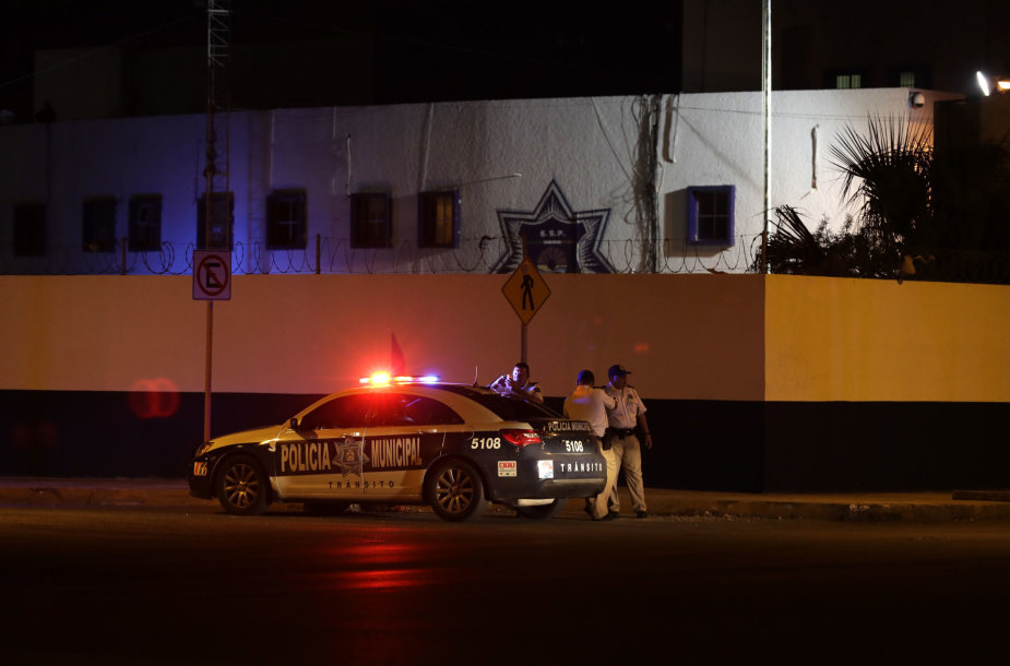 Meksikos policija Kankune