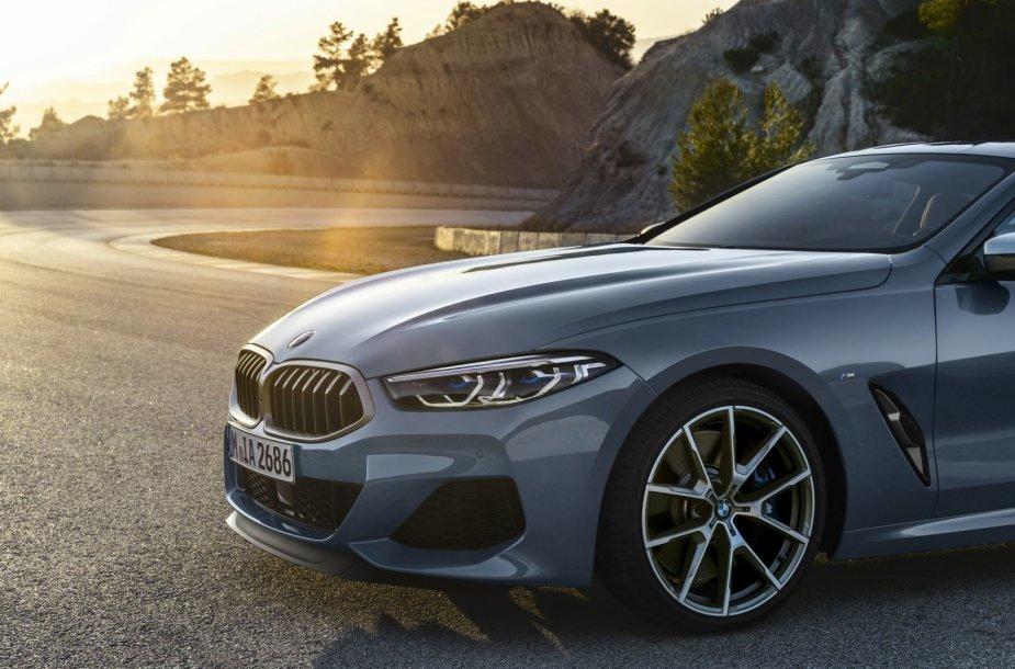 """Naujasis """"BMW 8 Coupe"""""""