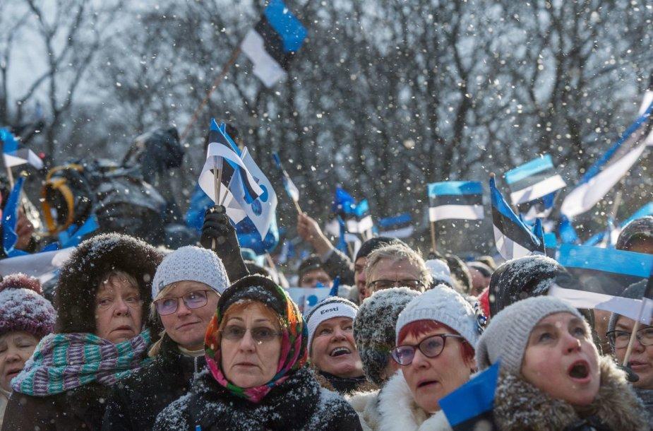 Estija švenčia nepriklausomybės šimtmetį