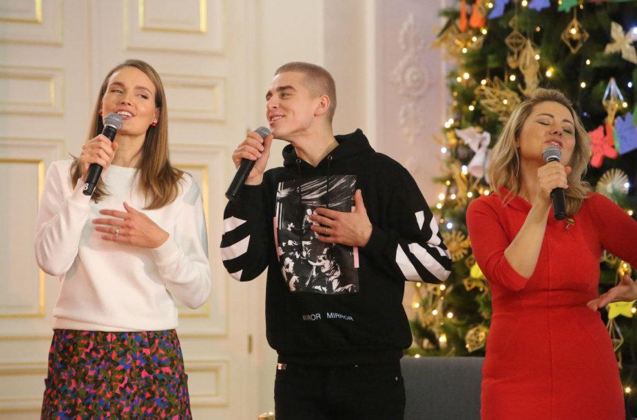 Jurgita Jurkutė, Donatas Montvydas ir Beata Nicholson
