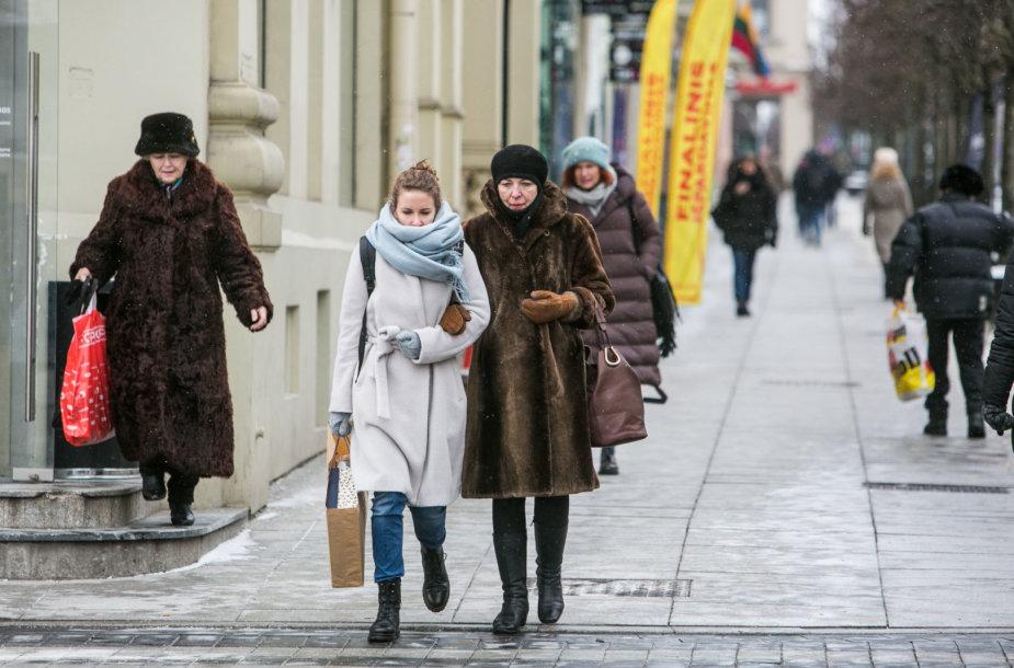 Šaltis Vilniuje