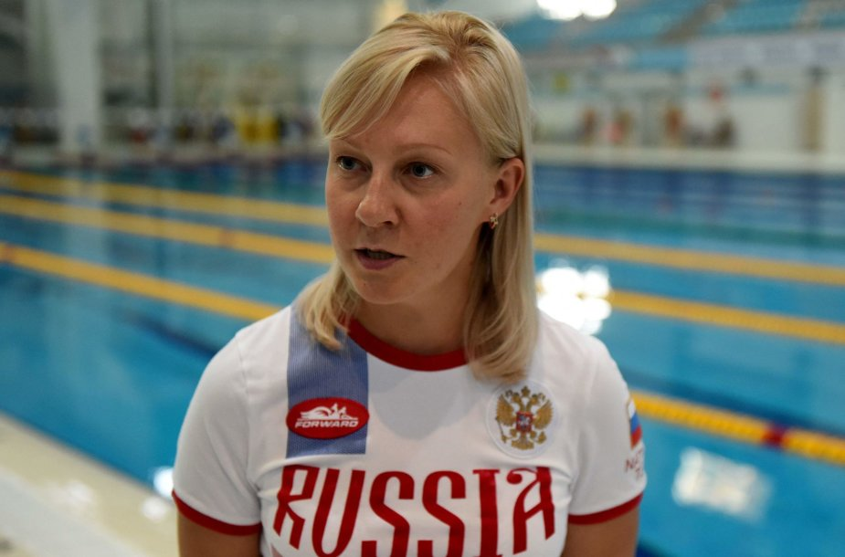 Rusijos paraolimpiečių trenerė Olesya Alexandrova